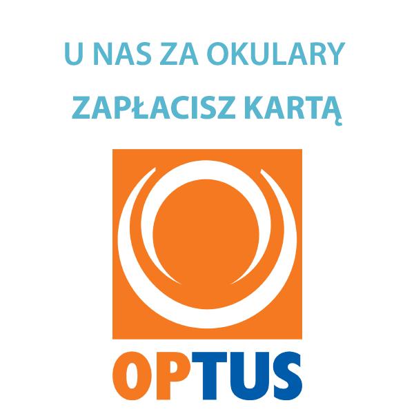 U nas za okulary możesz zapłacić kartą OPTUS.