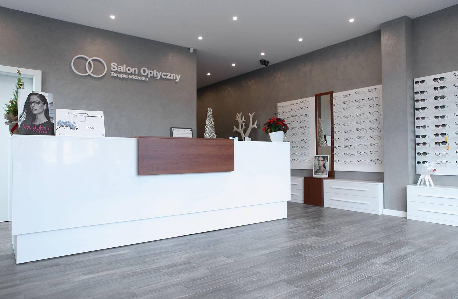 Salon Optyczny Terapia Widzenia w Brodnicy - recepcja